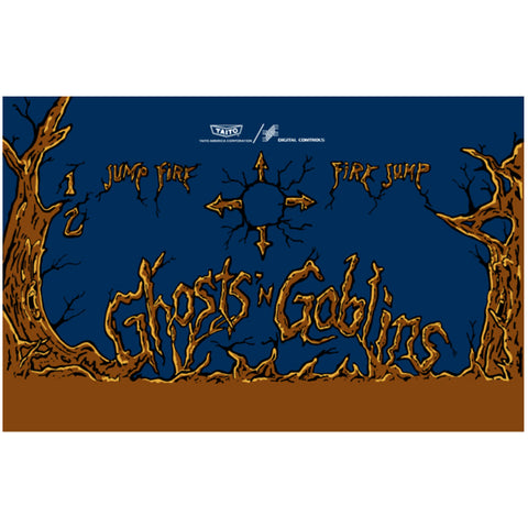 Ghosts n Goblins CPO - Control Panel Overlay (SDS)