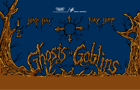 Ghosts n Goblins CPO - Control Panel Overlay