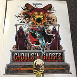 Ghouls 'n Ghosts Side Art Decals