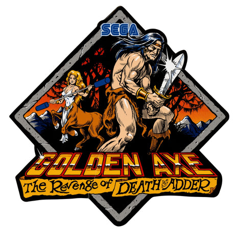 Golden Axe 2: The Revenge of the Death Adder Side Art Decals