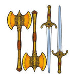 Golden Axe - Axe-Sword Kit Side Art Decals