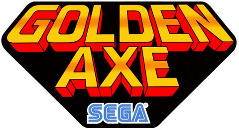 Golden Axe Side Art Decals