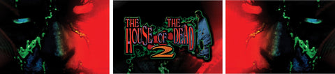 Arcade1Up HOTD House of the Dead Riser Decals