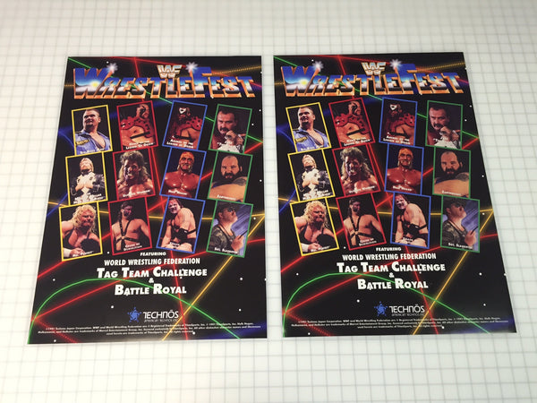 WWF WrestleFest Side Art