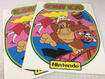 Donkey Kong Side Art Set