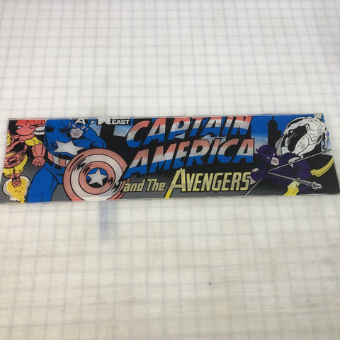 Vintage - Captain America & Avengers Arcade Marquee