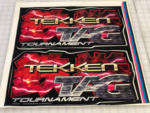Vintage - Tekken Tag Tounament Side Art
