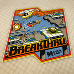 Vintage - Break Thru Side Art