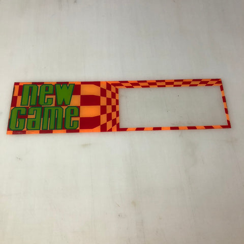 Vintage - New Game Arcade Marquee