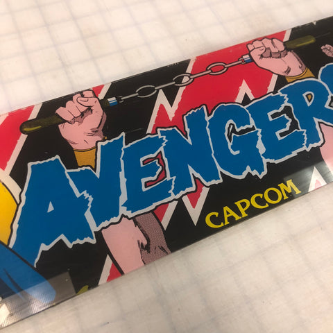 Vintage - Avengers Arcade Marquee
