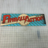 Vintage - Pinball Action Arcade Marquee