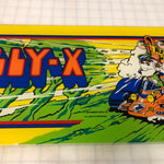 Vintage - Rally-X Arcade Marquee