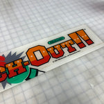 Vintage - Punch-Out Arcade Marquee