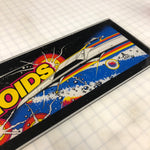 Vintage - Asteroids Arcade Marquee