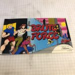 NOS Vintage - Brute Force Arcade Game Marquee