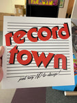Record Town Sign