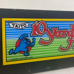 Vintage - 10 Yard Fight Arcade Marquee