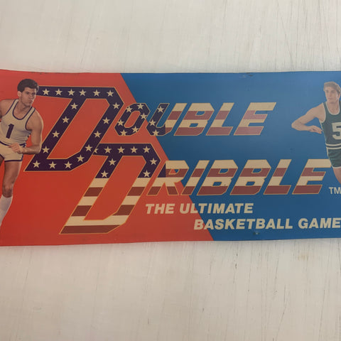 Vintage - Double Dribble Arcade Marquee Translite