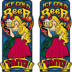 Ice Cold Beer Side Art Decals