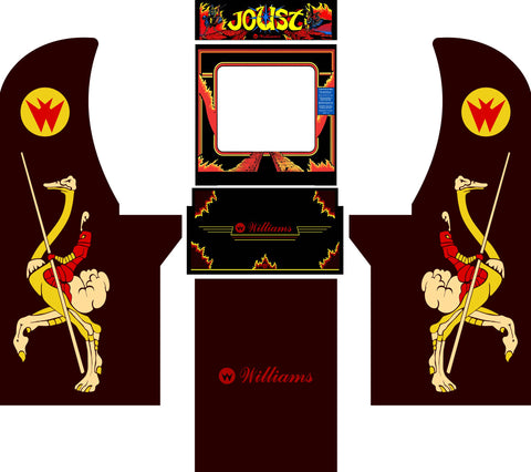 Arcade1Up - Joust Complete Art Kit