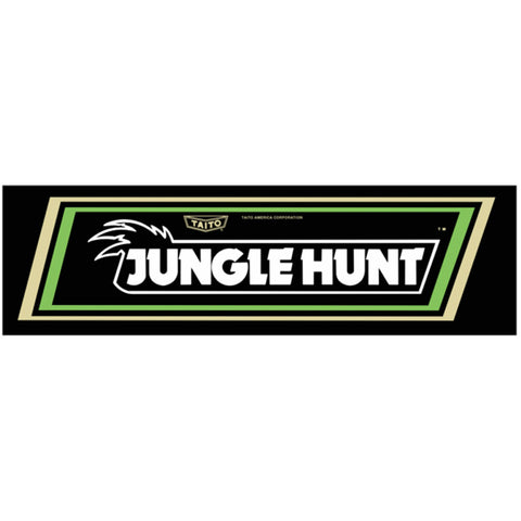 Jungle Hunt Arcade Marquee