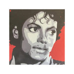 Michael Jackson Pop Art Canvas Print