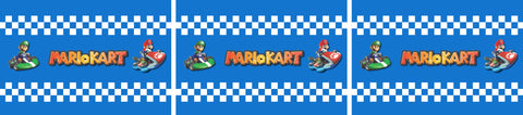 Arcade1Up Mario Kart Riser Decals