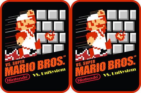Mario Bros 8-bit Side Art Decals