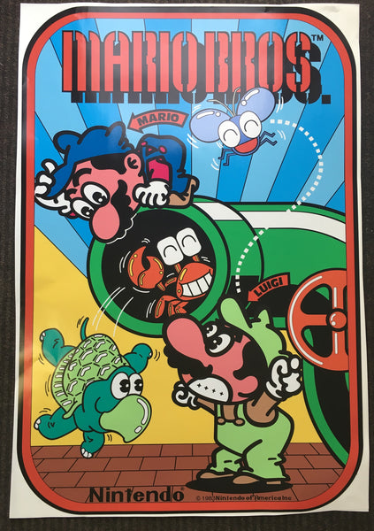 Mario Bros Side Art Decals