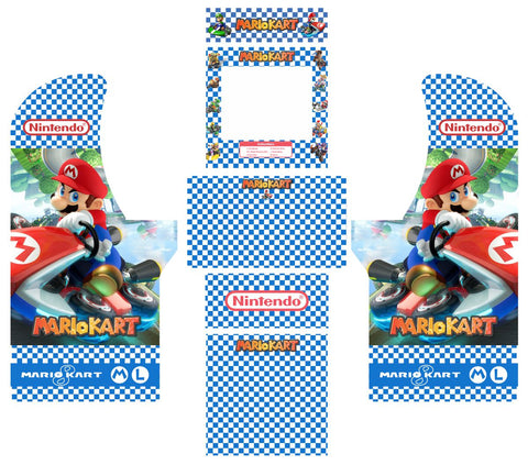 Arcade1Up - Mario Kart Complete Art Kit