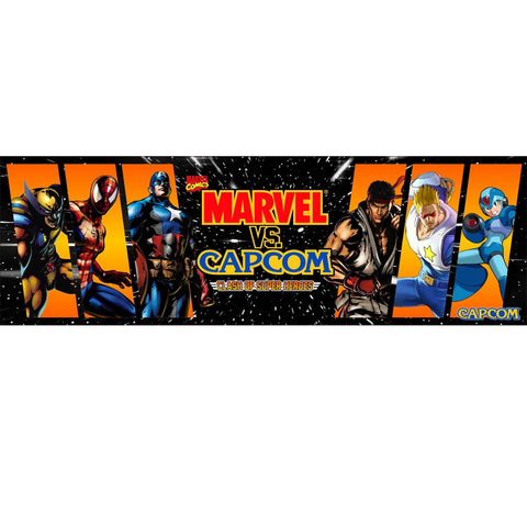 Marvel vs Capcom Arcade Marquee (Custom)
