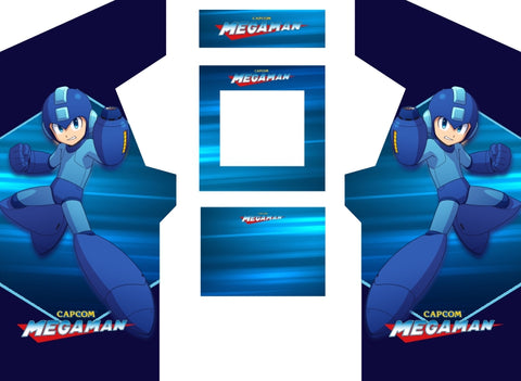 Mega Man Complete Restoration Kit (Customize to fit your cabinet)