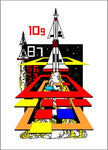 Arcade1Up - Missile Command Complete Art Kit