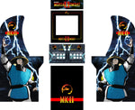 Arcade1UP - Mortal Kombat II 2 MK Complete Art Kit