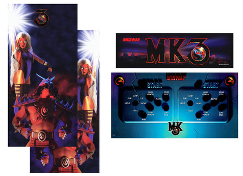 Mortal Kombat 3 MK3 Complete Restoration Kit