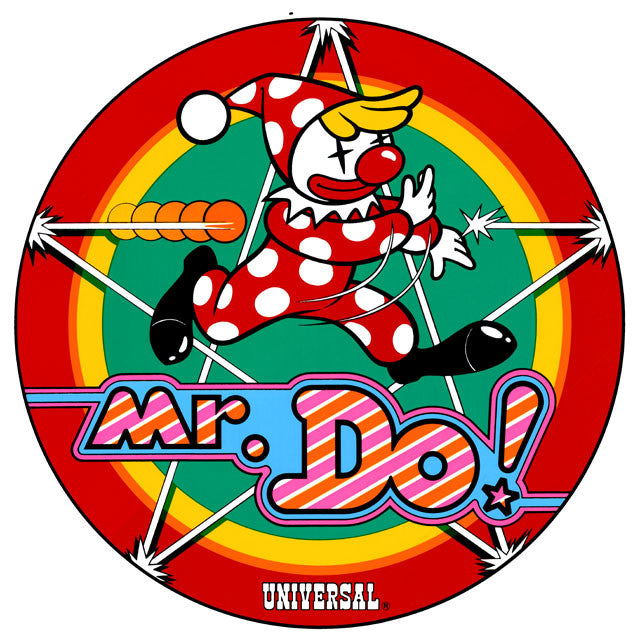 Mr Do Side Art Decals