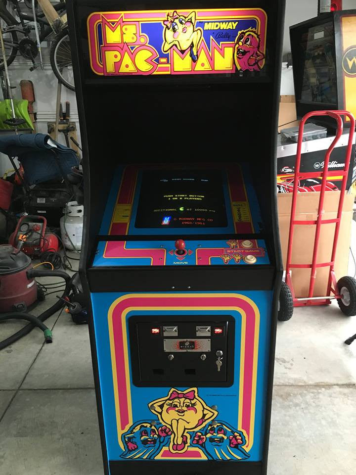 Ms Pac Man Complete Restoration Kit Escape Pod Online