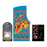 Ms. Pac-Man / Galaga 20 Year Reunion Sideart/Kickplate Set