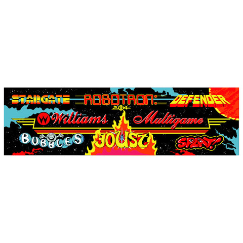 Multi-Williams Multicade Arcade Marquee