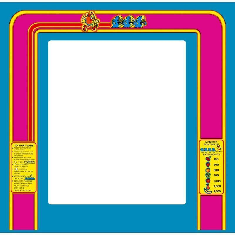 Ms  Pac-Man Bezel