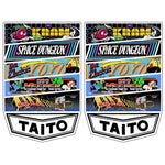 Multi Taito Multicade Side Art Decals