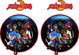 Mystic Warriors Side Art Decals