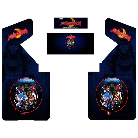 Mystic Warriors Complete Restoration Kit (Custom Blue or Red)