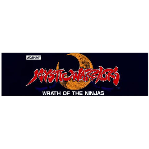 Mystic Warriors Marquee