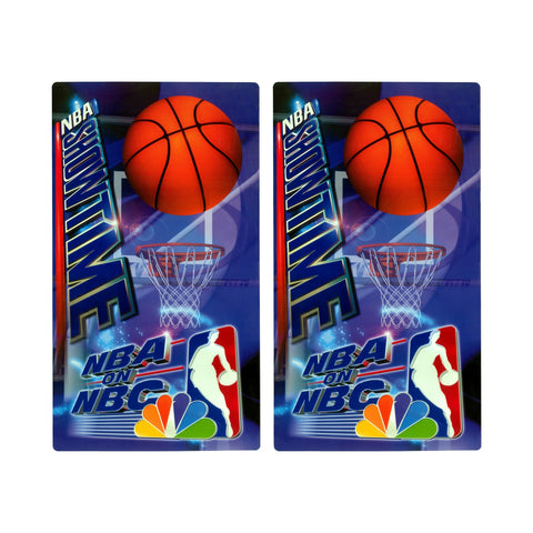 NBA Showtime on NBC Arcade Side Art