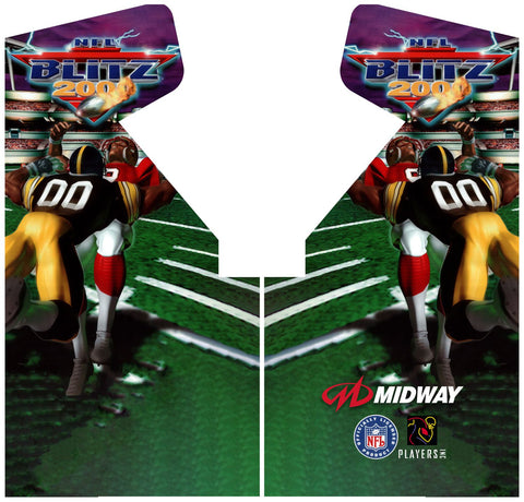NFL Blitz 2000 Side Art