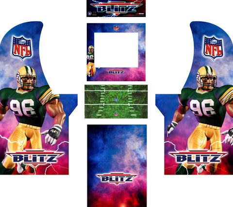 Arcade1Up - NFL Blitz Complete Art Kit