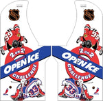 Arcade1Up - NHL Open Ice Complete Art Kit