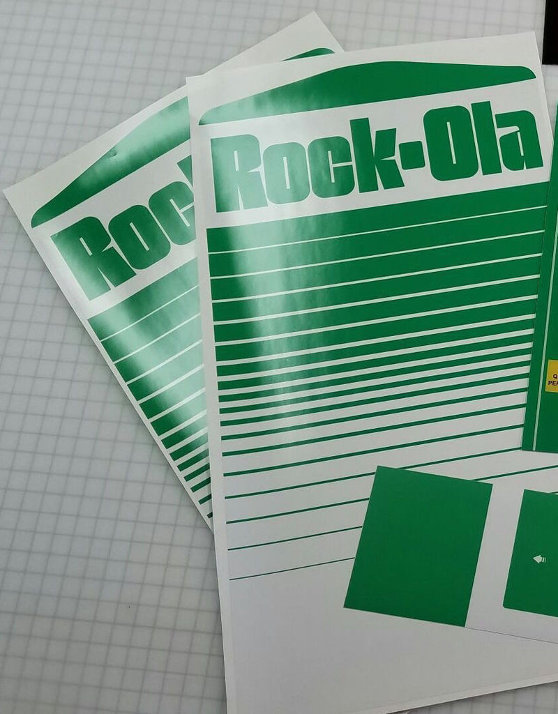 Nibbler Rock-Ola Side Art Decals
