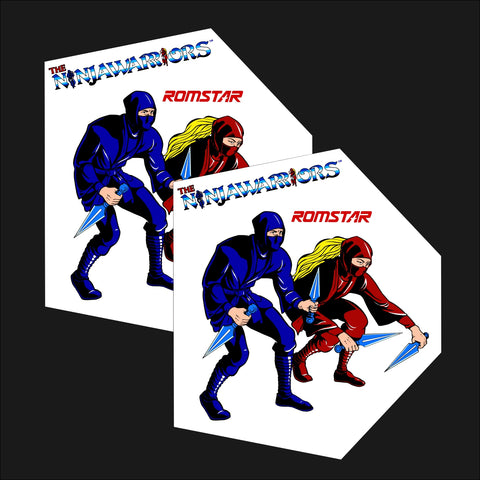 Ninja Warriors Side Art Decals